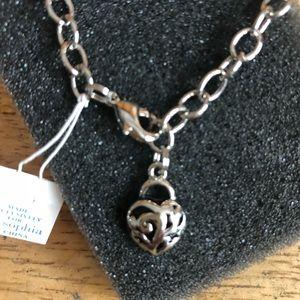 NIB Lia Sophia Heart Bracelet